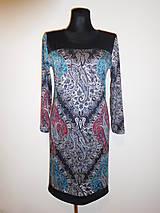 Šaty - Kašmírový luxus - 10091113_