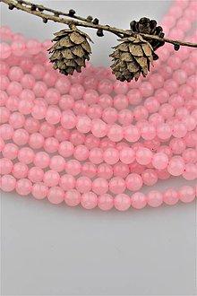 Minerály - ruženín korálky 8mm SUPERAKCIA! - 10090446_