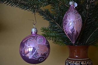 Dekorácie - Ružovo-fialová opál sada s pierkom - 10092943_