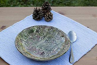 Nádoby - Hlboký tanier - rozprávková kolekcia - 10093037_