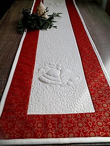 Úžitkový textil - Vianočná štóla - 10091489_