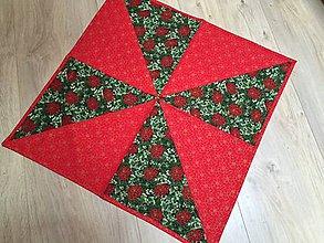 Úžitkový textil - SIMPLE - vianočný obrus - 10090830_