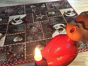 Úžitkový textil - vianočné prestierky -  sada 2ks - 10090899_