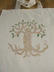 Nákupné tašky - Strom života - žena - 10091875_