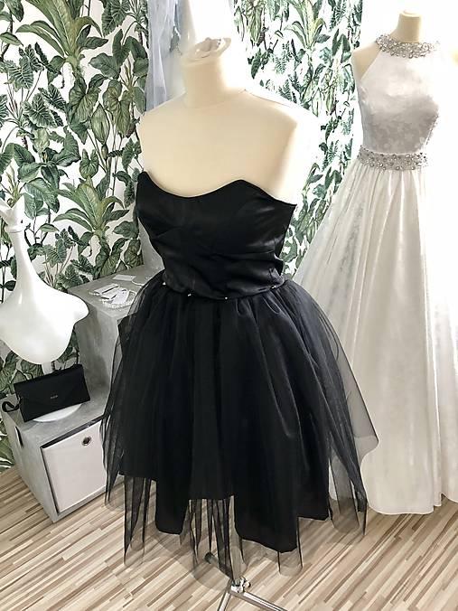 3662c60bd Krátke čierne šaty Saša / SalonCyntia - SAShE.sk - Handmade Šaty