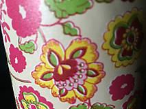 Krabičky - kvetinové na poklady - 10091626_