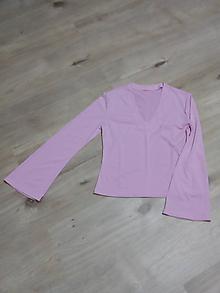 Topy - ružový top - 10093176_