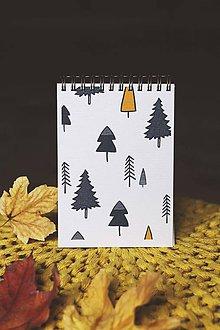 Papiernictvo - Lesné zápisníky (Les) - 10092479_