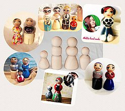 Socha - Personalizované bábky (figúrky podľa skutočnej osoby) - 10096293_