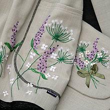 Šaty - ZĽAVA!Šaty ručne vyšívané... s doplnkami - 10096881_