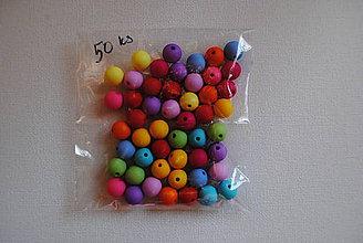 Korálky - Farebné guličky... - 10095986_