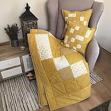 Úžitkový textil - Moderná žltá kombinácia - 10095433_