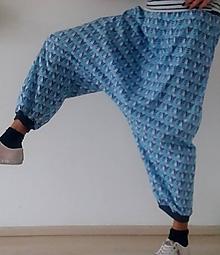Nohavice - Harémové kalhoty MEDVÍDEK MÝVAL - 10096496_
