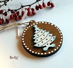 Dekorácie - Vianočná ozdoba masív 9 - 10096773_