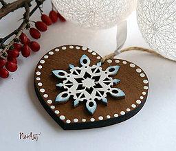 Dekorácie - Vianočná ozdoba masív 10 - 10097000_
