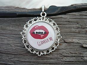Náhrdelníky - TOTÁLNÍ VÝPRODEJ! Náhrdelník Vampírsky...Glamour Me :) - 10097582_