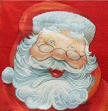 Papier - S1350 - Servítky - Vianoce, santa claus, dedo mráz - 10095100_