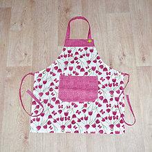 Detské oblečenie - zástera pre malé kuchárky - 10095860_