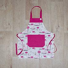 Detské oblečenie - zástera pre malé kuchárky - 10097085_