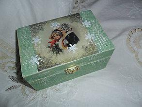 Krabičky - Šperkovnička. - 10097007_
