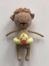 Hračky - Háčkovaný Nosáň Mačka / Crochet Avatar Cat - 10094386_