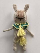 Hračky - Háčkovaný Nosáň Zajko / Crochet Avatar Bunny - 10095020_