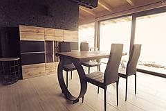 Nábytok - Jedalenský / Kuchynský stôl Industrial - 10097783_