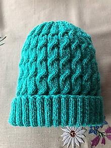 Detské čiapky - Osmičková čiapka - 10096353_