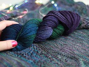 Galantéria - PRECIOUS - ručne farbená vlna  (Heavy-duty sock base 50g/205m) - 10094975_