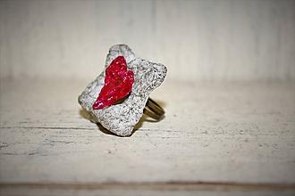 "Prstene - prsteň natur ""zaľúbený"" - 10096561_"