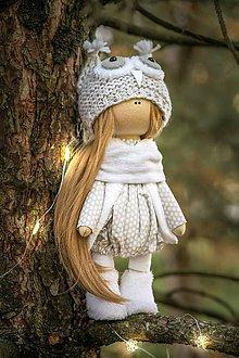 Bábiky - Snežná sova - 10096971_