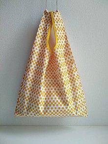 Nákupné tašky - Nákupná taška (Žltá) - 10098049_