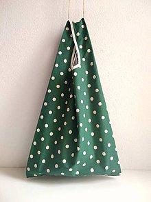 Nákupné tašky - Nákupná taška (Zelená) - 10098067_