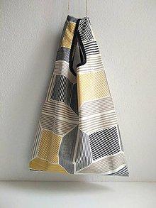 Nákupné tašky - Nákupná taška (Žltá) - 10098070_