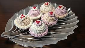 Háčkované muffinky