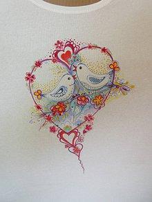 Tričká - Dominuje láska - 10098300_