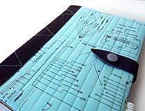 Papiernictvo - Zápisník Technická schéma - A5 - 10095984_