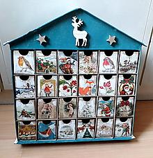 Dekorácie - Adventný kalendár rozprávkové Vianoce  /ZĹAVA Z 35 NA 33 e/ - 10095458_