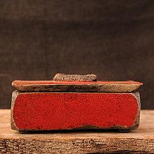 Krabičky - RAKU dóza - 10103896_