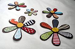 Textilné kvety 10cm,15cm,20 cm
