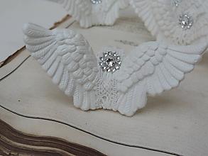 Dekorácie - Anjelské krídla na stromček - 10100762_