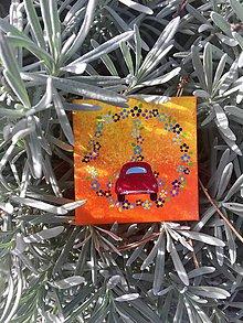 Magnetky - Chrobáčik v červenom - 10101507_