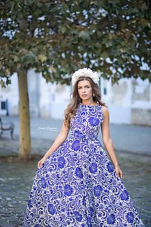 Ozdoby do vlasov - Svadobná biela čelenka - 10101587_