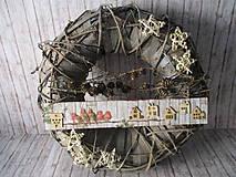 Dekorácie - Vianočný veniec - 10103118_