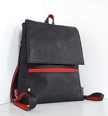 Batohy - Batoh Black/Red - 10100006_