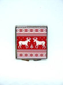 Zrkadielka - Vianočné zrkadielko - 10101815_