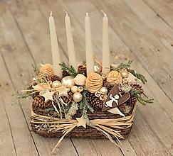 """Dekorácie - Vianočná dekorácia """"Andílek"""" - 10101949_"""