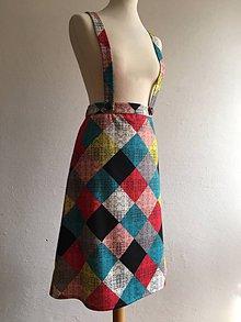 Sukne - retro sukňa na traky - 10099545_