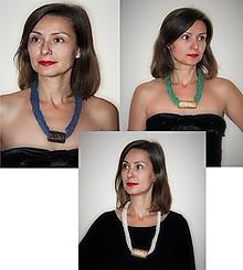 Náhrdelníky - Tri náhrdelníky