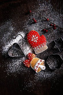 Drobnosti - Vianočné medovníčky - 10099263_